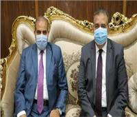 محافظ المنوفية ورئيس جامعة الأزهر يكرمان أوائل الشهادة الثانوية الأزهرية