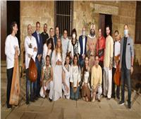 وزيرة الثقافة تشهد العرض المسرحى «عن العشاق» بقصر الأمير طاز