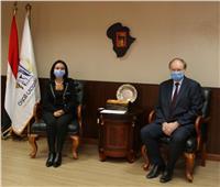 القومي للمرأة يستقبل الرئيس الجديد لبعثة الاتحاد الأوروبي في مصر