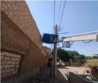 اعتماد مخططات توصيل الصرف الصحي وإحلال وتجديد أعمدة الإنارة لقرى بالمنيا
