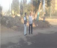 محافظ أسيوط: البدء في تسوية الطريق السريع أمام كمين المطمر بساحل سليم تمهيدا لرصفه