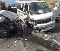 مصرع 5 أشخاص وإصابة3 من أسرة واحدة في حادث بالشرقية