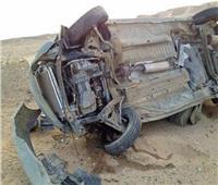 بالأسماء.. إصابة 8 في انقلاب سيارة بطريق «قنا - سفاجا»