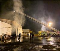 صور| اندلاع حريق ضخم في السعودية