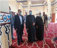 محافظ البحر الأحمر يستقبل وزير الأوقاف ويشيد بجهود الوزارة في إحلال وتجديد وصيانة بيوت الله