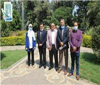 تفاصيل وصور.. زيارة سفير دولة بنجلاديش لحديقة حيوان الجيزة