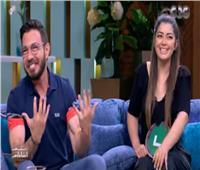 فيديو| أحمد زاهر وابنته ليلى مع منى الشاذلي