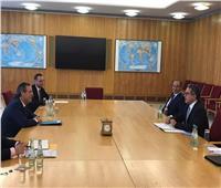 «العناني» يجتمع بوزير الدولة للشئون الخارجية ورئيس لجنة أزمة كورونا في ألمانيا
