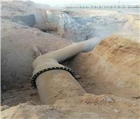 انتهاء أعمال تحويل خط مياه رئيسي بالجيزة وعودة المياه تدريجيا