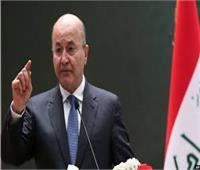 الرئيس العراقي يحذر من التراخي بمحاسبة الفاسدين ويدعو لانتخابات مبكرة نزيهة
