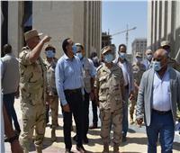رئيس الوزراء يتفقد مبنى مجلس الوزراء ووزارة الخارجية بالعاصمة الإدارية