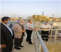 وزير الري يتفقد جاهزية المنشآت المائية في أسوان