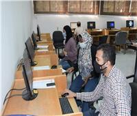 220 طالب وطالبة تقدموا بالمرحلة الثالثة لمكتب تنسيق جامعة القناة