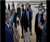 «المشاط» والسفير الأمريكي يتابعان تشغيل محطة الصرف الصحي الحبيل بالأقصر