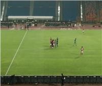 المقاصة يستكمل المباراة أمام الأهلي بـ10 لاعبين
