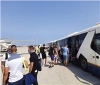 صور| مطار الغردقة يستقبل أولى رحلات شركة «ALK» البلغارية