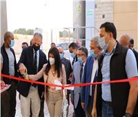 صور.. وزيرة التعاون الدولي تفتتح توسعات محطة معالجة مياه الصرف الصحي بالأقصر