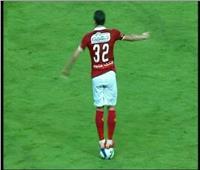 لاعب أسوان: يعلق على تقليد « رمضان صبحي » بالوقوف على الكرة