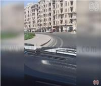 فيديو| انتشار أمني وسيولة مرورية في شوارع وميادين القاهرة والجيزة