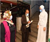 تعافى وخروج 397 حالة من مصابي كورونا بمستشفى قنا العام