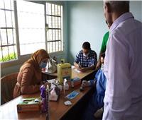 «حملة 100 مليون صحة» تجوب المصالح الحكومية بالقنطرة شرق