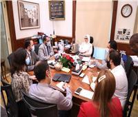 هالة زايد: فحص 8 ملايين و30 ألف سيدة في مبادرة الرئيس لصحة المرأة