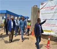 رئيس القابضة للمياه يتابع ميدانياً مشروع محطة مياه حجازة بحري بمحافظة قنا