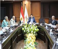 وزير الرياضة يلتقي مجلس أمناءالتنمية الرياضية والشبابية بشبرا