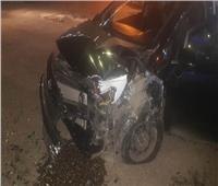 إصابة 6 أشخاص في حادثين منفصلين ببني سويف