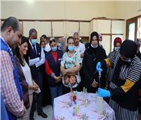 صور«المشاط»: المدارس الذكية بصعيد مصر نموذج للتعاون الفعال مع شركاء التنمية