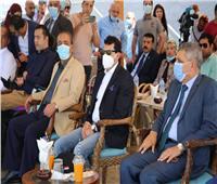 وزير الشباب والرياضة يشهد الاحتفال بيوم السلام العالمي في الإسماعيلية