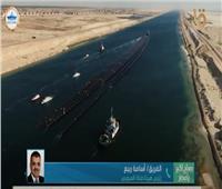 فيديو «في 17 ساعة» .. قناة السويس تنجح في عبور 12 ماسورة عملاقة بطول 620 م