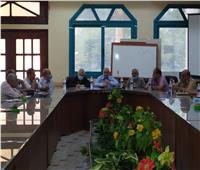 إعانات لضحايا كورونا بسوهاج في أول اجتماع لـ«المعلمين»