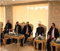 """أمين """"البحوث الإسلامية"""" يلتقي وفدًا من إقليم كوردستان العراق ويبحثان التعاون المشترك لدعم الوافدين"""