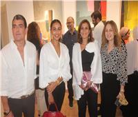 صور| ميس حمدان تشارك في افتتاح معرض وليد طاهر