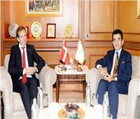 المدير العام للإيسيسكو يلتقي سفير الدنمارك في الرباط