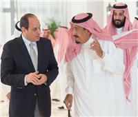 الرئيس السيسي يهنئ خادم الحرمين الشريفين وولي العهد بمناسبة اليوم الوطني للسعودية