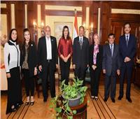 وزيرة الهجرة تثمن دور السلطة التشريعية وتكرم عددًا من «النواب»