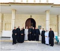 الأنبا باخوم يلتقى أعضاء مجمع الآباء الكهنة بالإسكندرية