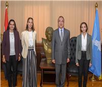محافظ الإسكندرية يبحث مشروعي «أكوا إليكس» و«الدراجات الكهربائية» مع قنصل فرنسا