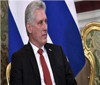 رئيس كوبا يؤكد رفض بلاده مخططات الضم الإسرائيلية في الضفة الغربية