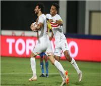 محمود علاء يسجل الهدف الثاني للزمالك في طنطا