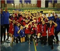 «سيدات طائرة الأهلي» أبطال كأس مصر
