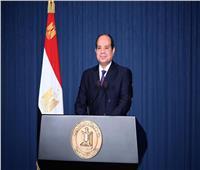 الرئيس السيسي: مصر عازمة على دعم ليبيا لتخلص من التنظيمات الإرهابية
