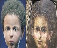 إعادة بناء وجه مومياء طفل مصري بدقة