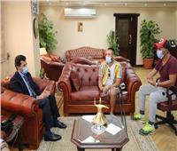 وزير الرياضة يدعم لعبة كرة القدم للمبتورين من ذوى القدرات والهمم