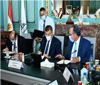 بروتوكول تعاون بين جامعة عين شمس وجمعية رجال الأعمال وبنك التنمية الصناعية