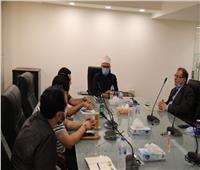 أمين «البحوث الإسلامية» يبحث مع «الاتصالات» بدء تنفيذ رقمنة إدارات المجمع المختلفة