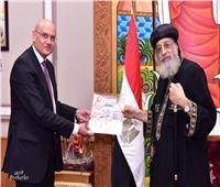 البابا تواضروس يستقبل السفير الكوري الجنوبي وقنصل مصر بملبورن