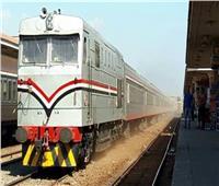"""""""السكة الحديد"""" تكشف حقيقة خروج قطار عن القضبان بشبين القناطر"""